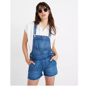 Madewell Adirondack Short Overall In Denville Wash